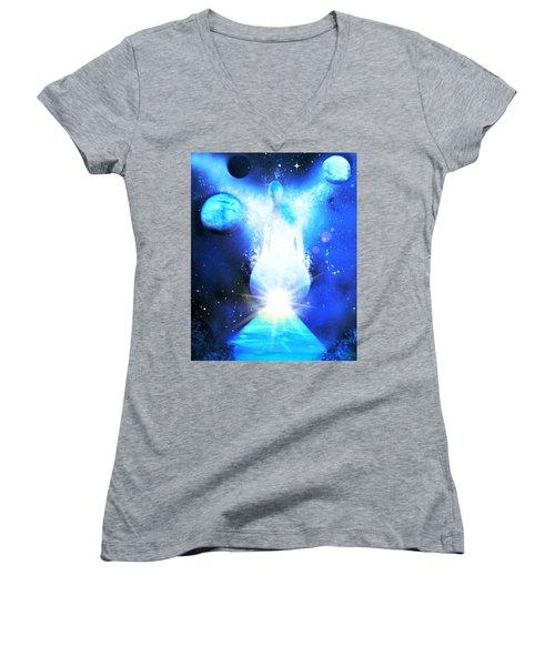 From The Light Women's V-Neck T-Shirt