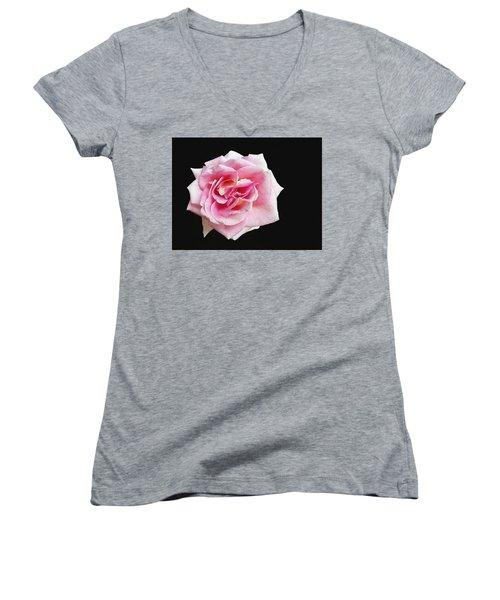 From The Rose Garden Women's V-Neck