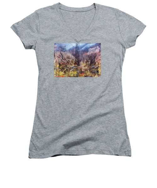 From The Rubble Women's V-Neck