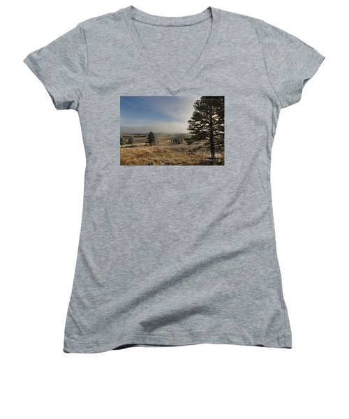 Frosty Morning Women's V-Neck T-Shirt