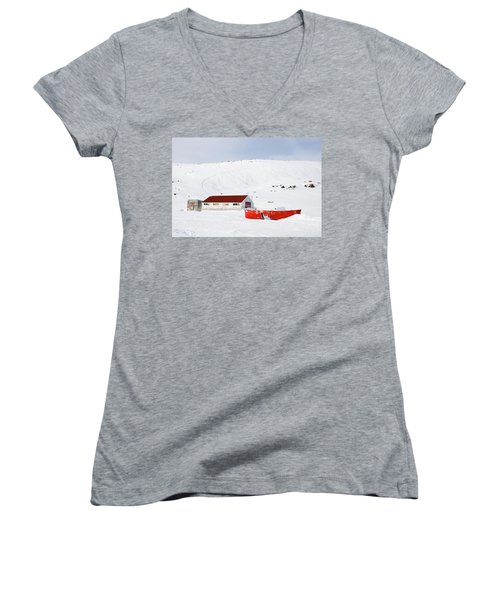 Frozen Life Women's V-Neck T-Shirt