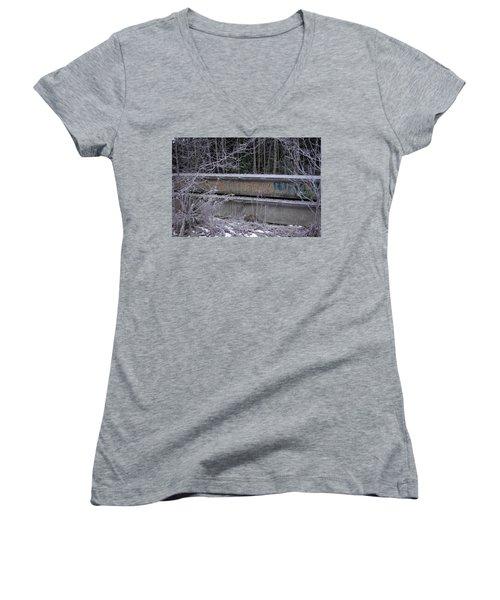 Frozen Revolution Women's V-Neck T-Shirt