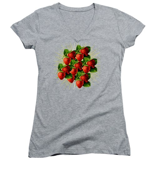Fruit 0101 Women's V-Neck