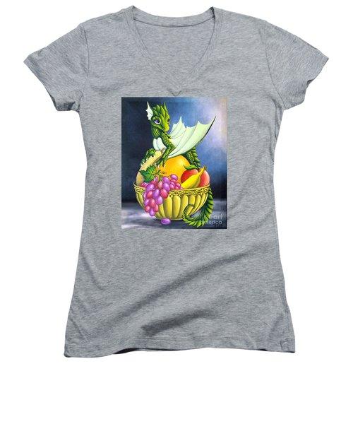 Fruit Dragon Women's V-Neck