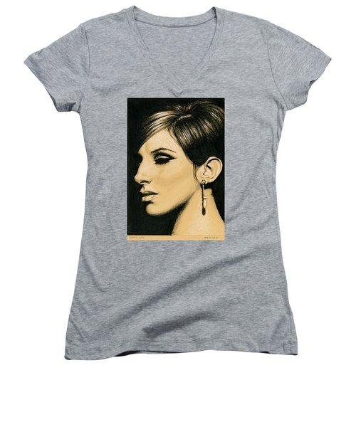 Funny Girl Women's V-Neck T-Shirt