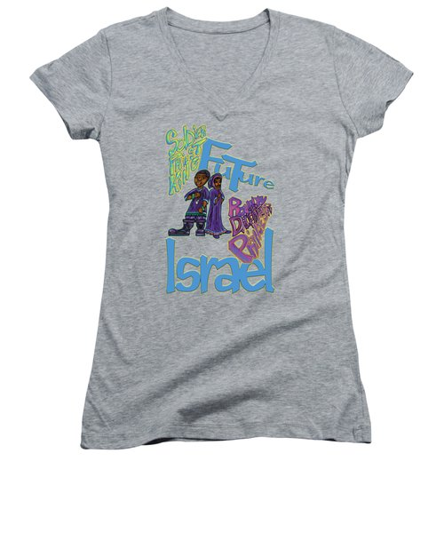 Future Israel Women's V-Neck (Athletic Fit)