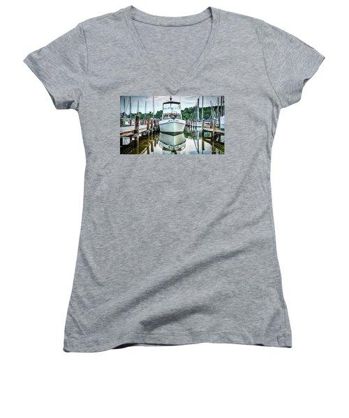 Galesville Women's V-Neck T-Shirt