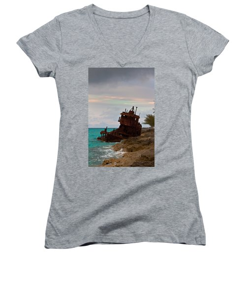 Gallant Lady Aground Women's V-Neck