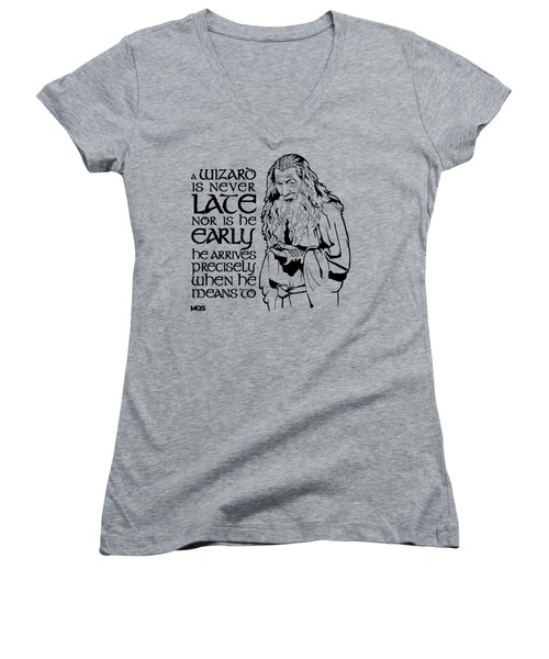 Gandalf Women's V-Neck T-Shirt