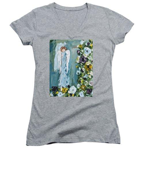 Garden Angel Women's V-Neck