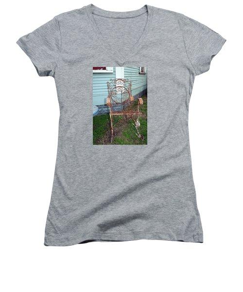 Garden Chair Women's V-Neck T-Shirt
