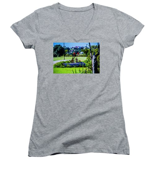 Garden Log Women's V-Neck
