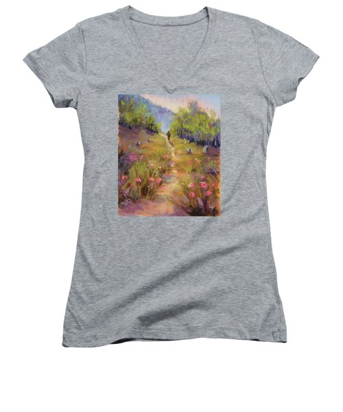 Garden Of Stone Women's V-Neck T-Shirt