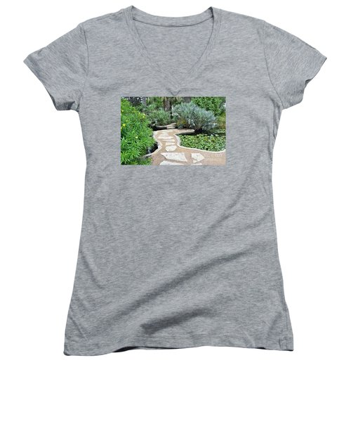 Garden Path  Women's V-Neck