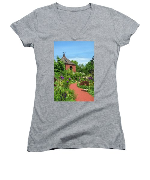 Garden Path Women's V-Neck T-Shirt