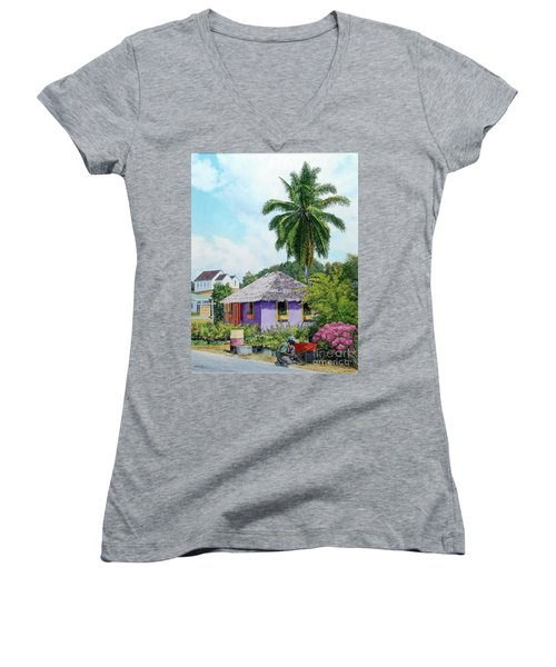 Gardener Hut Women's V-Neck