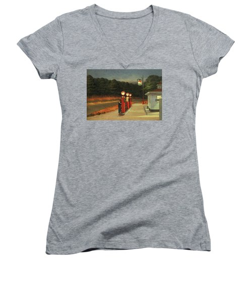 Gas  Women's V-Neck T-Shirt