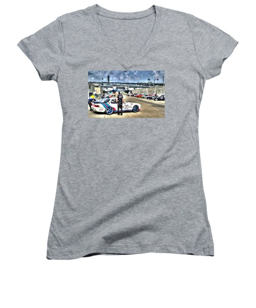 Gasoline Alley Svra Women's V-Neck (Athletic Fit)