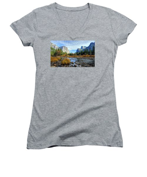 Gates Of The Valley Women's V-Neck