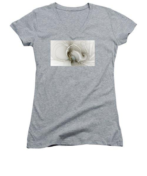 Gateway To Heaven-fractal Art Women's V-Neck