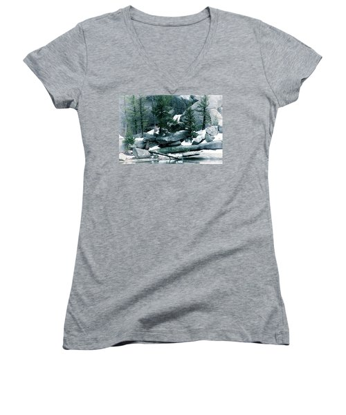 Gem Lake Women's V-Neck