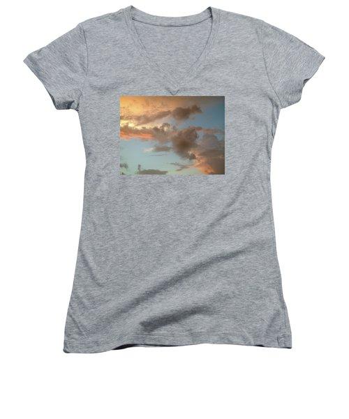 Gentle Clouds Gentle Light Women's V-Neck