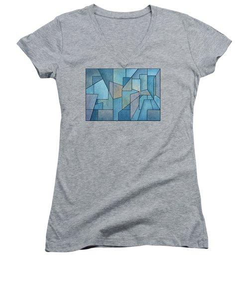 Geometric Abstraction IIi Women's V-Neck