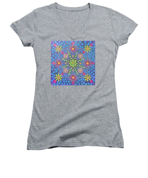 Geometry Of An Arkana Women's V-Neck (Athletic Fit)
