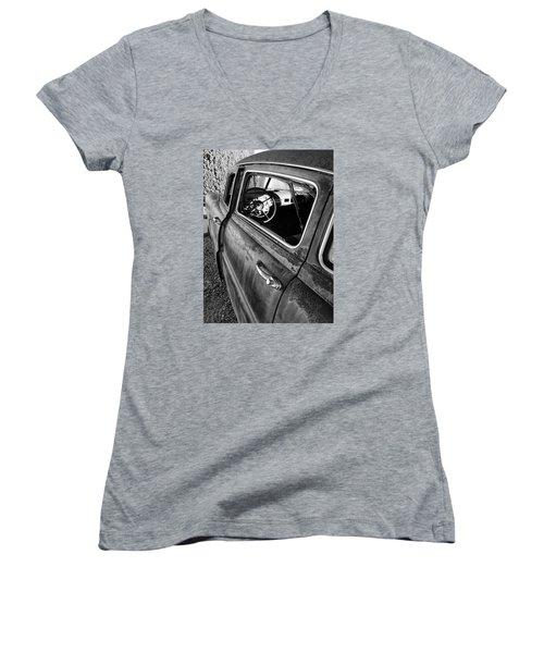 Ghost Driver Women's V-Neck T-Shirt