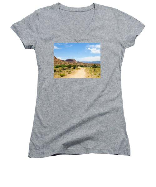Ghost Ranch  Women's V-Neck