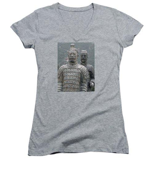 Ghost Warriors Women's V-Neck T-Shirt