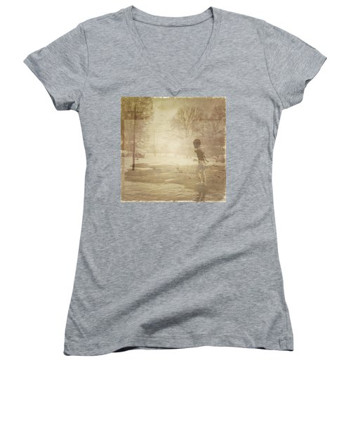 Ghosts And Shadows Vi - Mistaken Women's V-Neck T-Shirt