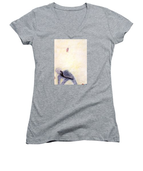Ghosts In My Machine Women's V-Neck