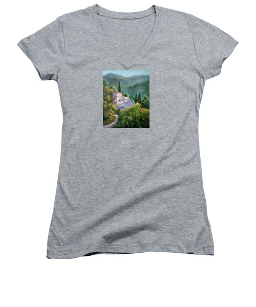 Ghosts Of The Peloponnese Women's V-Neck T-Shirt