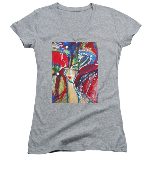 Girl Women's V-Neck