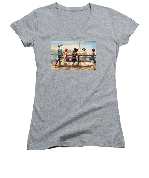 Girls Day Out Women's V-Neck