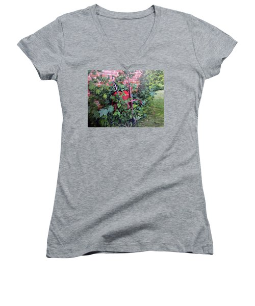 Give And Take Women's V-Neck