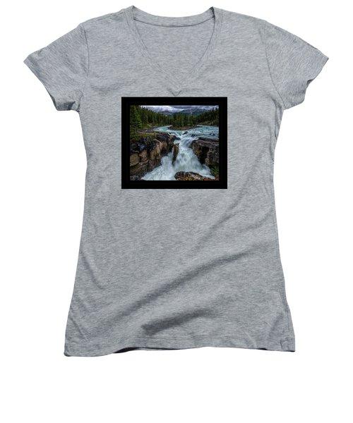 Glacier Falls Women's V-Neck
