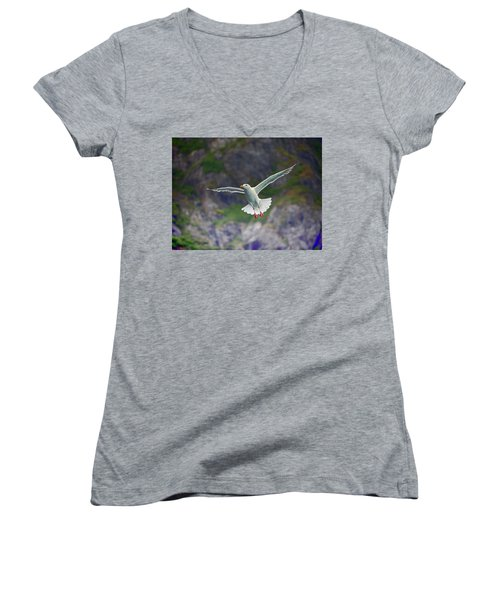 Glaucous-winged Gull Women's V-Neck