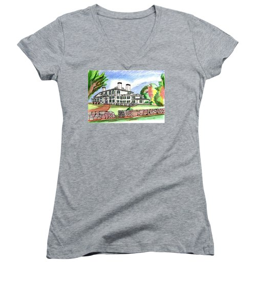 Glen Magna Farms Danvers Women's V-Neck T-Shirt