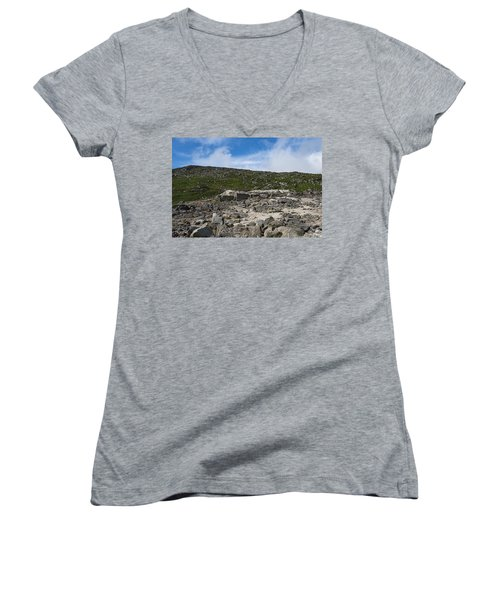 Glendasan Abandoned Mining Site Village Women's V-Neck