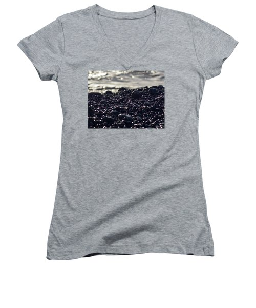 Glistening Rocks Women's V-Neck