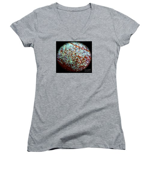 Glitter Women's V-Neck T-Shirt (Junior Cut) by KD Johnson