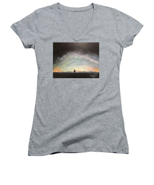 Glory Of God Women's V-Neck