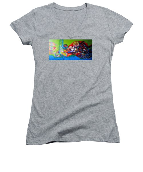 Glory Of Harmony Women's V-Neck T-Shirt