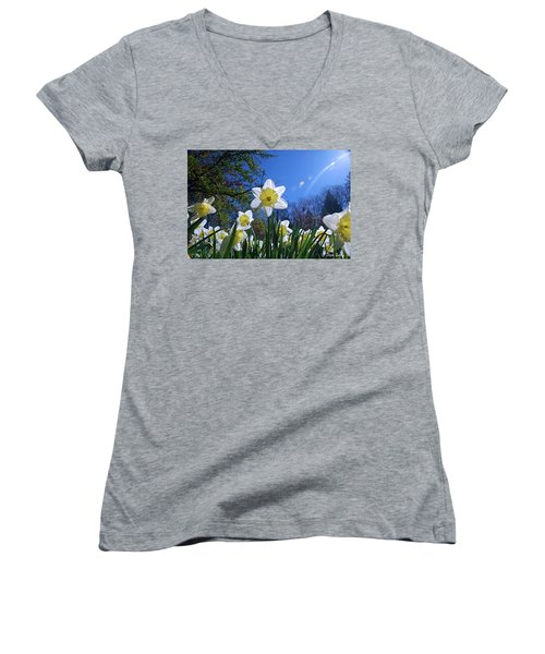 Glory Of Spring Women's V-Neck (Athletic Fit)