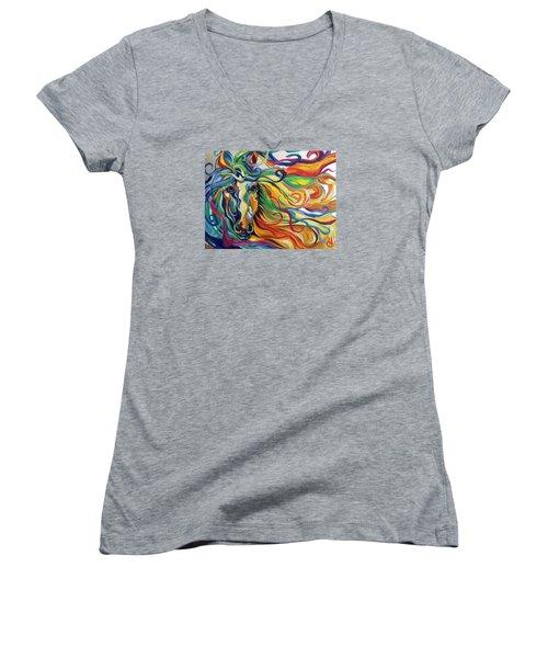 Glyde  Women's V-Neck T-Shirt