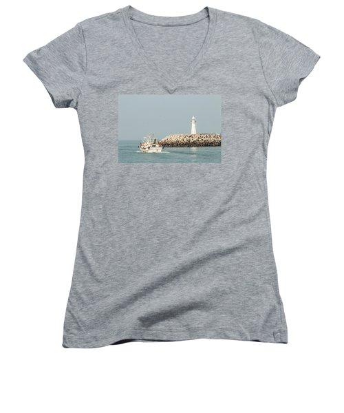 Go Fishing Women's V-Neck T-Shirt