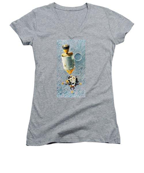 Go For Landing Women's V-Neck T-Shirt