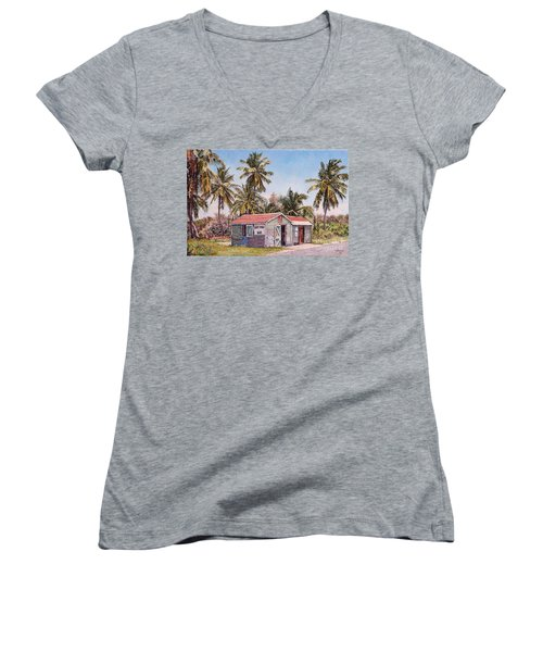 Goat Pond Bar Women's V-Neck
